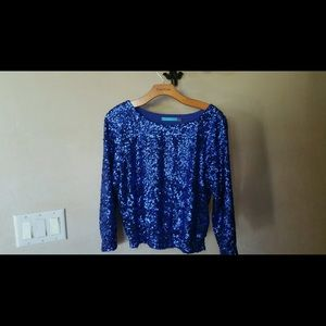 Alice and Olivia sequence top size small